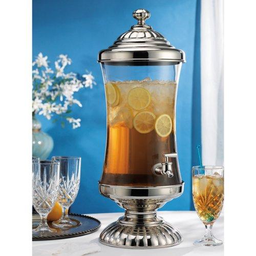 Godinger Chapel Hill Shannon Crystal Beverage, Ice Tea, Drink, Punch Dispenser 2.5 Gallon