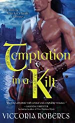 Temptation in a Kilt (Bad Boys of the Highlands Book 1)
