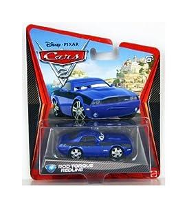 Disney Pixar Cars 2 - Rod « Torque » Redline - Voiture Miniature Echelle 1:55 - N°16 (W1953)