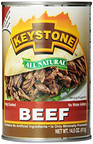 Keystone Meats All Natural Canned Beef, 14.5 Ounce (Keystone Canned Meat compare prices)