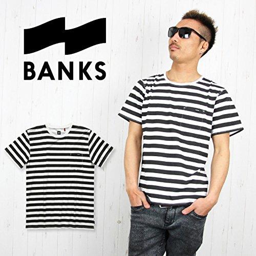 BANKS バンクス メンズ Tシャツ ATS0033 SCORE 半袖 プリントTシャツ 男性用