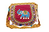 Watercolour Jhola bag