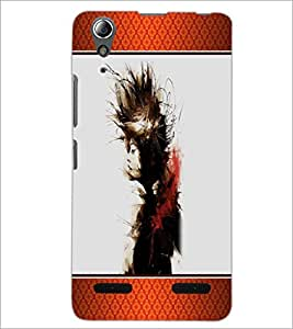 PrintDhaba Girl D-1344 Back Case Cover for LENOVO A6000 PLUS (Multi-Coloured)