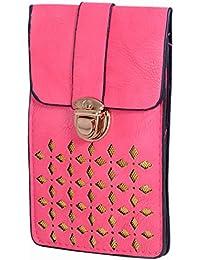 Ratash Golden Cut Work Sling Bag Pink (Hbd_64_65_66_14)