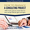 How to Manage a Consulting Project: Make Money, Get Your Project Done on Time, and Get Referred Again and Again Audiobook by Richard Lowe Jr Narrated by Millian Quinteros