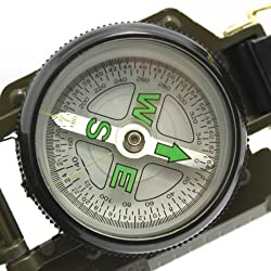 LENSATIC MILITARY GREEN COMPASS -PIA INTERNATIONAL