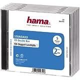 """Hama CD-Double-Box """"Standard"""", 5er-Pack"""