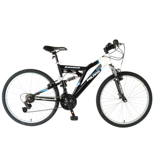 Polaris Ranger Men's Dual-Suspension Mountain Bike (26-Inch Wheels)