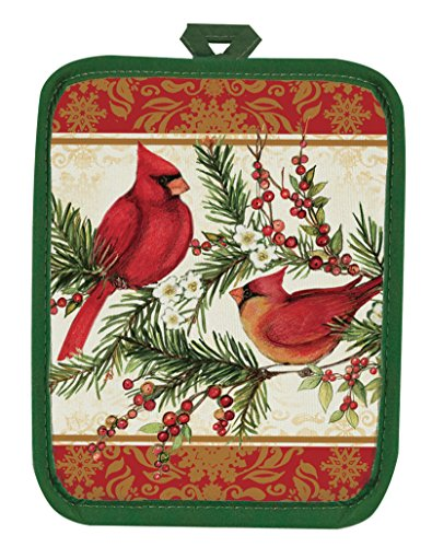 Kay Dee Designs Botanical Cardinal Linens (Pot Holder)