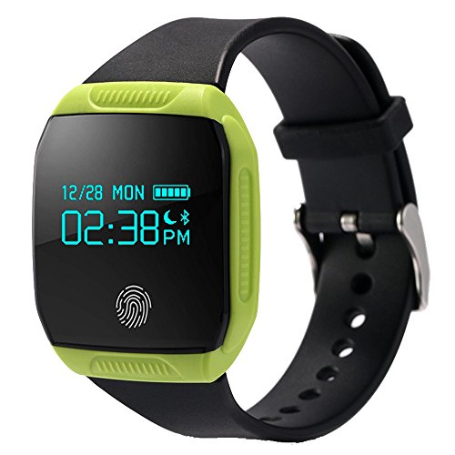 LEMFO-E07S-Smart-Band-Sports-Fitness-Watch-Activity-Tracker-Bracelet-Wristband-Call-Reminder-for-Android-iOS-Green