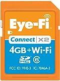 Eye-Fi  Connect X2 4 GB  SDHCクラス6ワイヤレス メモリカード