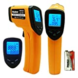 Nubee 8380H Non-contact Infrared Thermometer Temperature Gun with Laser Sight MAX Display