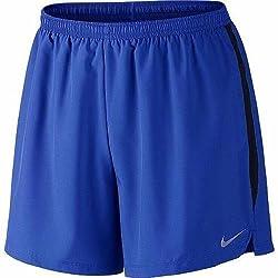 Nike Men's Synthetic Shorts (685068988318_644237-480_Small_Game Royal/Black)