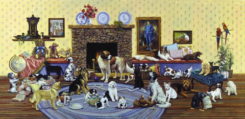 Dogs, Dogs, Dogs 1000-piece Jigsaw Puzzle - 1