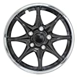 510V1IYZ8mL. SL160  Pilot WH522 14C B Black Chrome 14 Wheel Cover