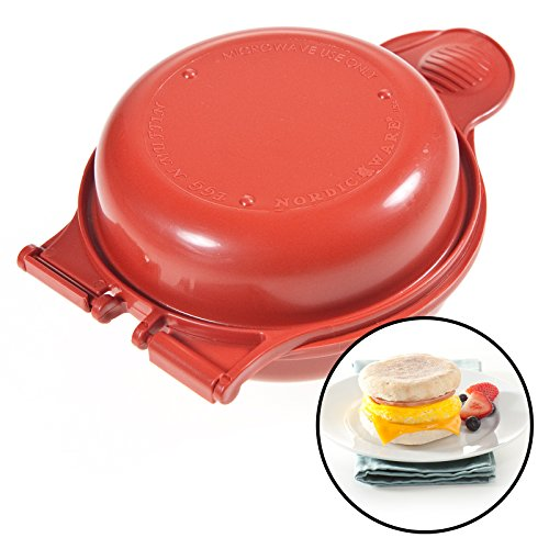 Nordic Ware Microwave Egg Muffin Pan Breakfast Sandwich Kitchen Tool Cooker Usa front-552912