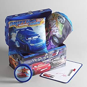 Disney Pixar Cars Magical Room Makeover Trunk with Slumber Sack , Pillow and Dry Erase Board at Sears.com