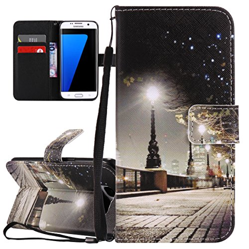 isaken-cover-samsung-galaxy-s7-edge-custodia-galaxy-s7-edge-creative-disegno-stampa-stile-del-llibro