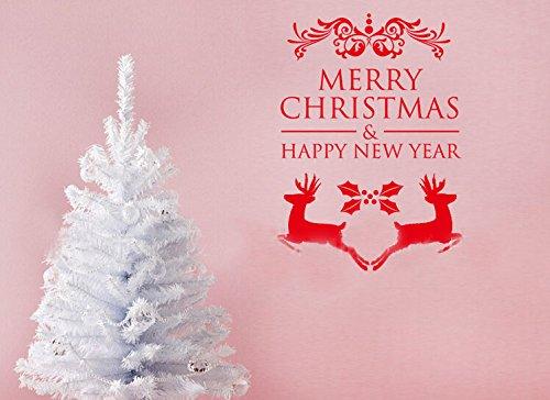 Toprate(Tm) Merry Christmas Santa'S Sleigh Deer Family Christmas Atmosphere Home Art Decor Decal Love Kids Bedroom front-61124