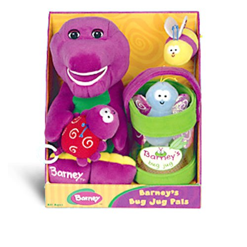 Amazon.com: Barney's Plush Bug Jug Pals