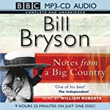 Notes from a Big Country: Complete & Unabridged (BBC MP3-CD Audio Collection) Bill Bryson