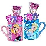 Frozen Candy Filled Mug Gift Set Bundle of 2