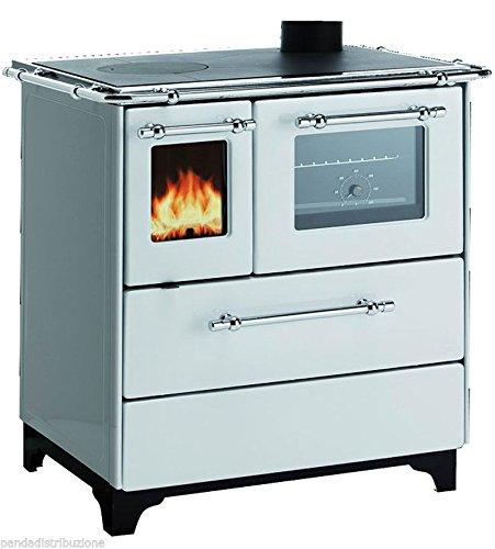 Cucine / Cucina Royal a legna Mod. Betty 3.5 colore bianco