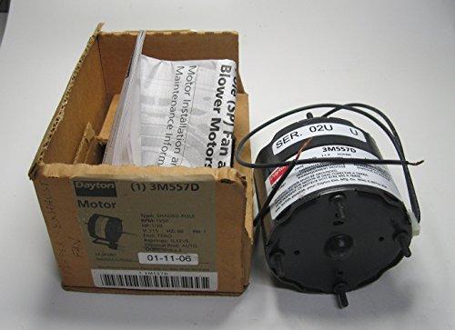 Dayton Electric Hvac Fan Motor 1/30Hp 115Vac 3M557D