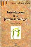 echange, troc Collection U - Introduction à la psychosociologie