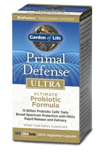 Traditional Foods Online Probiotics Garden Of Life Garden Of Life Primal Defense Ultra
