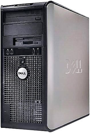 Dell Optiplex 740MT, Athlon X2 5600+, 2GB RAM, 160GB HDD, Win7