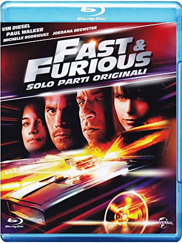 Fast & furious - Solo parti originali [Blu-ray] [IT Import]