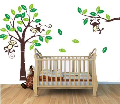 Monkey Themed Bedroom front-509958