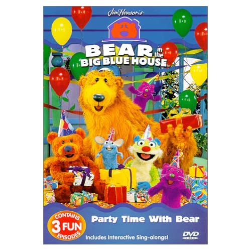 playhouse disney bear inthe big blue house games