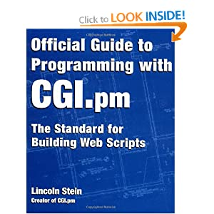 Official Guide to Programming with CGI.pm: The standard for building web scripts