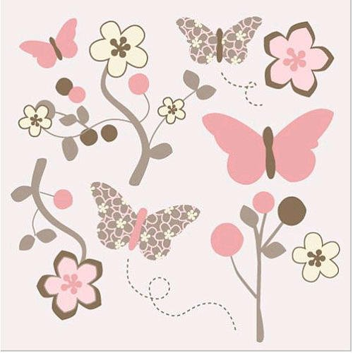 Mia Rose CoCaLo Removable Wall Appliques, Decals - 1