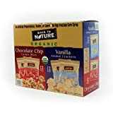 Back to Nature Organic Cookies, 24 Snack Packs - Vanilla Animal Crackers (12) and Chocolate Chip Cookie Bites (12)Net WT. 24 oz