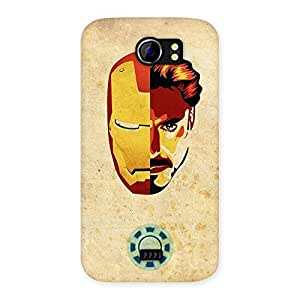 Enticing Genius Pwer Back Case Cover for Micromax Canvas 2 A110