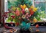 King - Autumn Flowers - 1000 Piece Jigsaw Puzzle