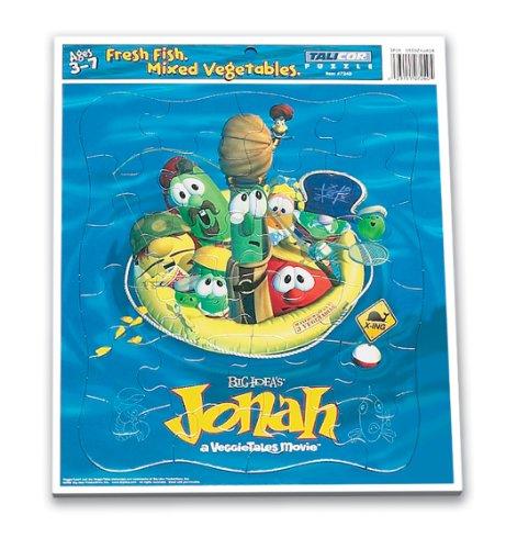 Talicor 7240 Veggietales Jonah Inlaid Puzzle
