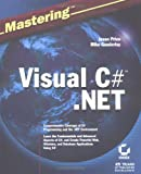 img - for Mastering Visual C# .NET book / textbook / text book