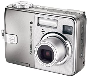 Kodak Easyshare C340 5 MP Digital Camera with 3xOptical Zoom (OLD MODEL)