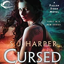 Cursed (       UNABRIDGED) by S. J. Harper Narrated by Johanna Parker