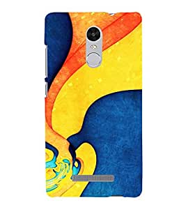 Modern Art Design Pattern 3D Hard Polycarbonate Designer Back Case Cover for Xiaomi Redmi Note 3 :: Xiaomi Redmi Note 3 (3rd Gen)