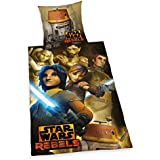 Herding 447266050412 Bettwäsche Star Wars Rebels, Kopfkissenbezug: 80 x 80 cm mit Bettbezug: 135 x 200 cm, 100 % Baumwolle, Renforce