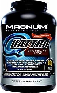 Magnum Nutraceuticals Quattro - 2 Lbs. - Chocolate Love