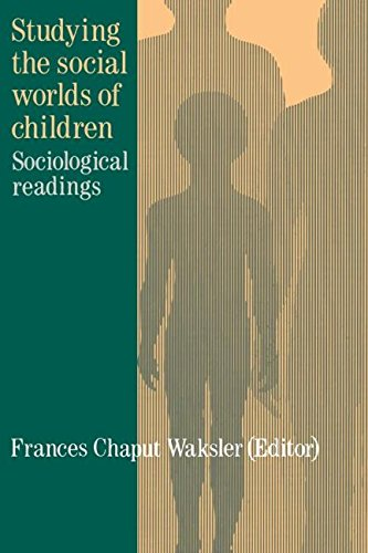Studying The Social Worlds Of Children: Sociological Readings (Christianity; 23)
