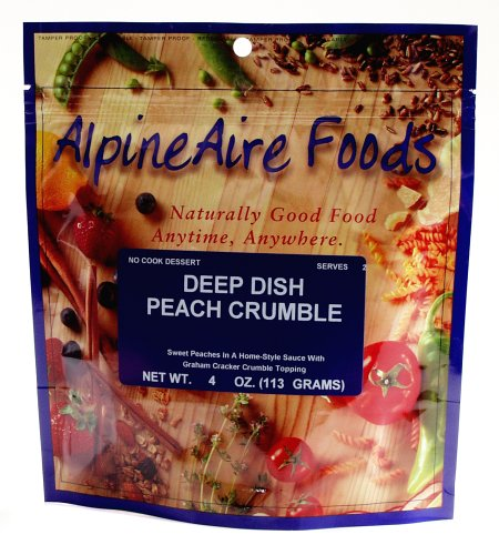 AlpineAire Foods Deep Dish Peach Crumble