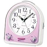 SEIKO CLOCK(セイコークロック) メロディ31曲! アナログ目覚まし時計(ピンク) NR435P
