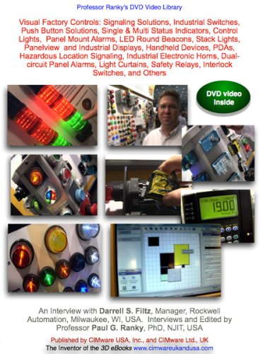 Visual Factory Controls: Signaling Solutions, Industrial Switches, Push Button Solutions, Single & Multi Status Indicators, Control Lights,  Panel Mount Alarms, LED Round Beacons, Stack Lights,  Panelview  and Industrial Displays, Handheld Devices, PDAs..
